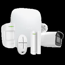 Sistema de alarme sem fios GPRS/LAN