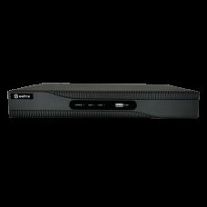Gravador NVR para câmaras IP de 8 canais com 2 discos