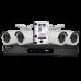KIT Full HD 1080p 4 Câmaras + disco 1TB